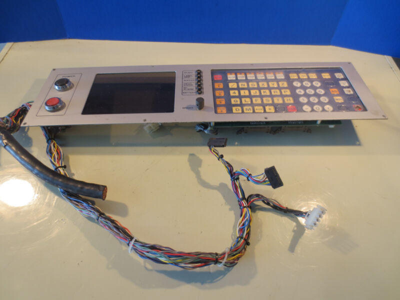 YASKAWA 2000G MATSUURA OPERATOR CONTROL PANEL JANCD-GSP10 GSPIO  DF6101675 REV.B