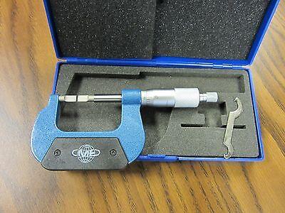 0-1 Blade Micrometer 0.0001 Grad.carbide Tippedpart 4058-bld--new