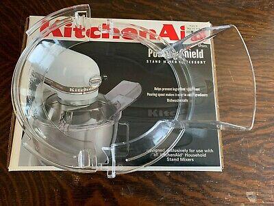 Kitchen Aid Tilt Head Stand Mixer KPS2CL 2 Piece Pour Shield Splash Guard K45SS