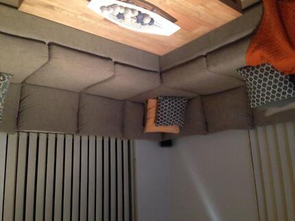 Madison Extra Large Modular Lounge - Near New Engadine Sutherland Area Preview
