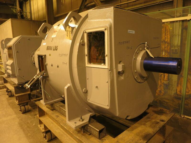 REBUILT General Electric DC Motor CD7663 400 HP 500 V 300/1200 RPM SPFG-SV GE