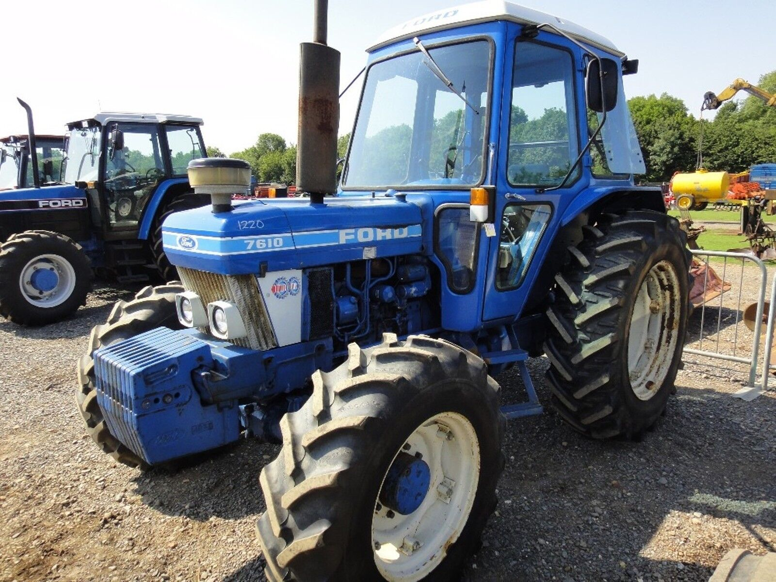 7 of 12 Ford Tractors Workshop Manual 10 Series