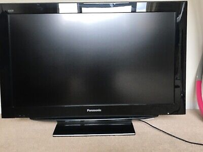 Panasonic 37 inch TV Viera with the remote control