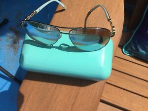 Authentic Tiffany and Co. Aviator Sunglasses (with case) OBO