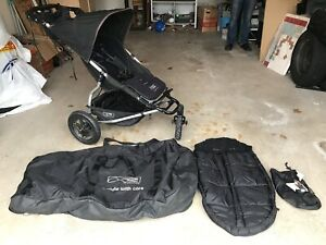 Mountain Buggy Urban Elite with accessories