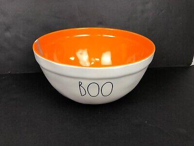 Rae Dunn Boo Halloween Orange Inside Melamine Treat - Candy Schüssel Halloween