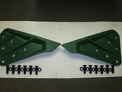 Esco Style T1156a T1157a Sidecutters And 12 Of .875x3plow Bolts And 12 Nuts
