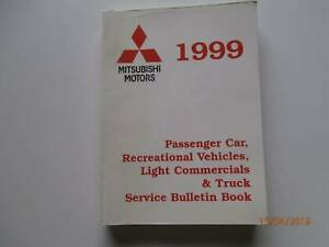 Mitsubishi Service Bulletins 1999 Tarago Goulburn City Preview