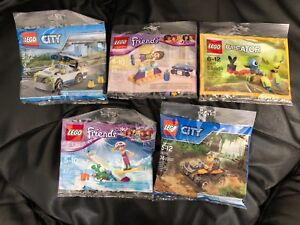 LEGO  assorted poly bags