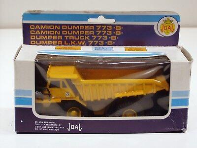 Caterpillar 773B Dump Truck o/c 1/70 Joal 223 MIB Old Blue Box