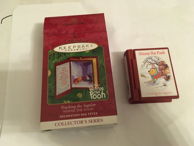 2001 Hallmark Winnie the Pooh Keepsake Ornament Book TRACKING THE JAGULAR 5 of 7