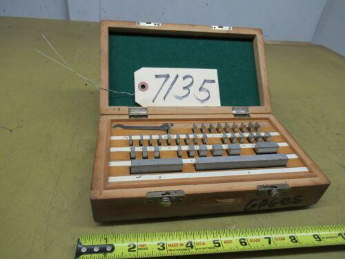 36 Piece Gage Block Set (CTAM #7135)