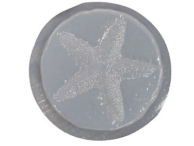 Round Starfish  Stepping Stone Plaster or Concrete Mold 1105 Moldcreations ()