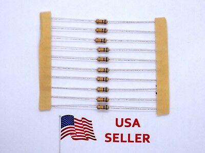 14w .25 Watt 5 Tolerance Carbon Film Resistor 10 Pieces Usa Seller