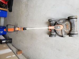 Black and Decker cordless Trimmer/Mower
