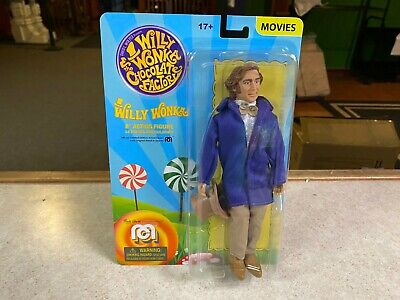 """2020 Mego WILLY WONKA & THE CHOCOLATE FACTORY 8"""" Inch Action Figure MOC"""