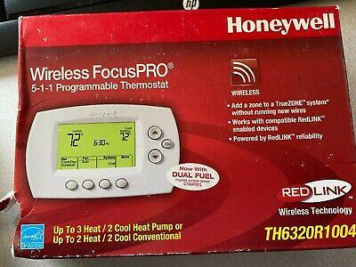 Honeywell Wireless Focuspro Thermostat