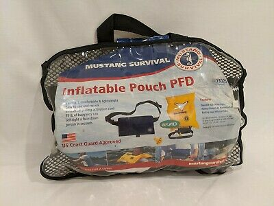 Mustang Survival MD3025 Inflatable Pouch Belt Pack PFD Type V Manual Device