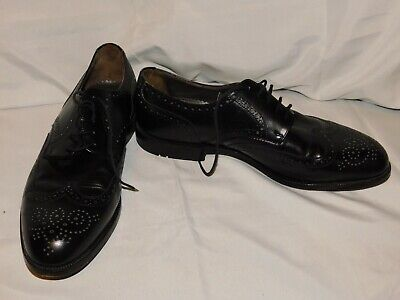 THE LLOYD PREMIUM SELECTION BLACK LEATHER OXFORDS SIZE 9