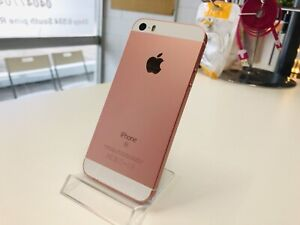 IPhone SE 64gb rose gold unlocked with invoice warranty