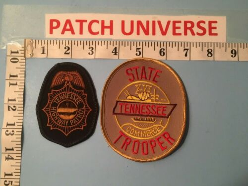 LOT OF 2 DIFF  TENNESSEE HIGHWAY PATROL  SHOULDER PATCHES  J078