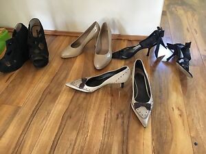 Shoes $5 each - Tony Bianco, Zara, Sandler, Easy Steps Redcliffe Belmont Area Preview