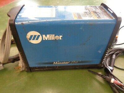 Miller Electric Maxstar 200 Dx Tig Stick Welder 903701-01-1 Welding Machine