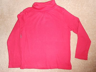 GIRLS RED ROLL NECK GYMBOREE SIZE 5
