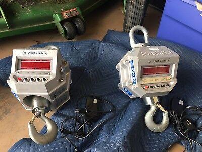 Msi Portable 4260 Crane Scales 2000 X .5 Lb
