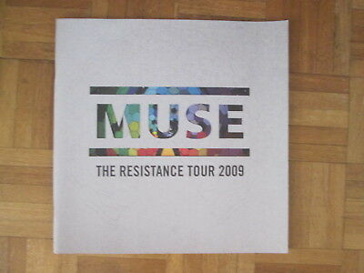 Muse The Resistance Tour 2009 tour programme UK TOUR PROGRAMME 2009