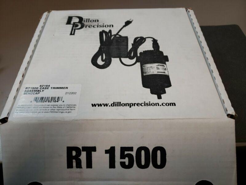 Dillon RT 1500 case trimmer NIB. PN 62164 Fits Dillon  XL750, Super 1050, RL1100