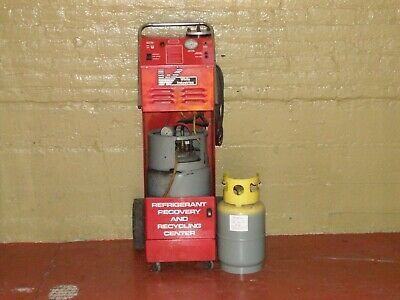 White Industries R12 Refrigerant Recovery And Recycling Machine Model 01050