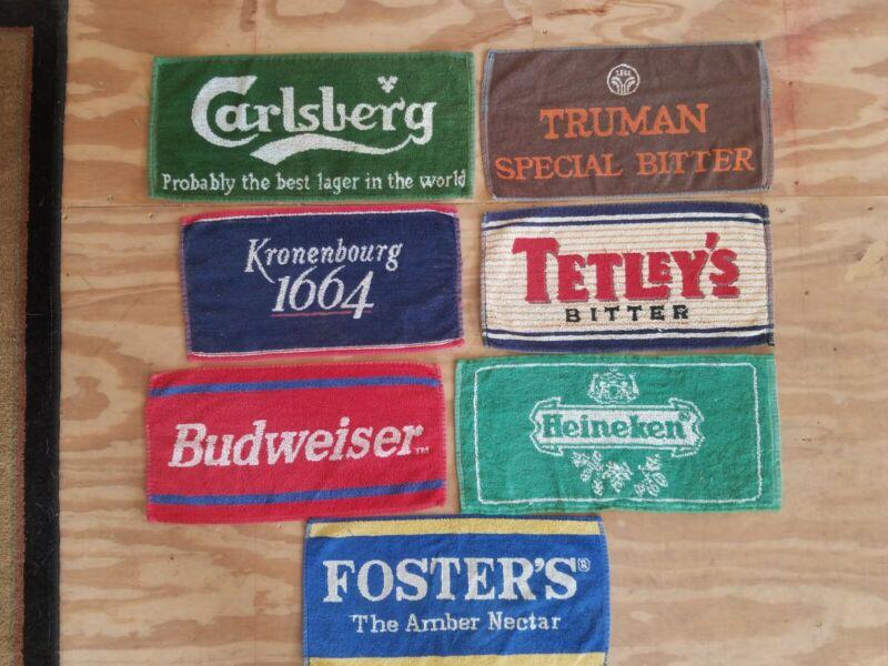 Vintage bar towels Preowned