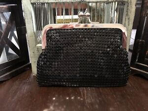 Small sequins evening purse