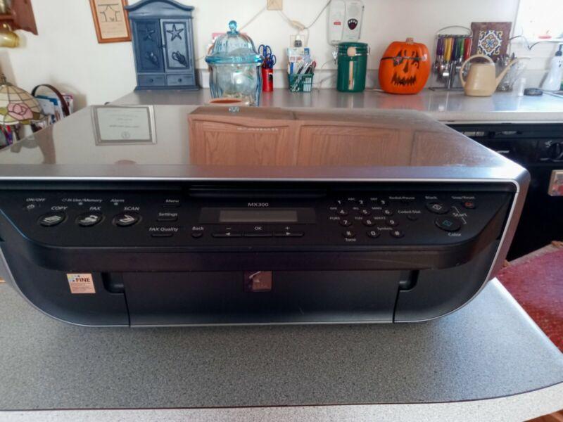 Canon PIXMA MX300 Office All-in-One Inkjet Printer
