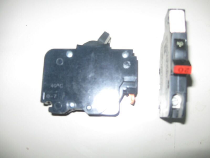 Federal Pacific Circuit Breaker 20 amp 1 Pole Stab-Lok 120v type NC Thin FPE