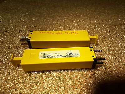2 Marconi Current Limiter Module 50122 140 714ma 100va New Nos Rare 49