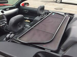 Mustang convertible wind shield
