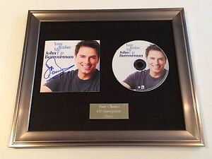 SIGNED-AUTOGRAPHED-JOHN-BARROWMAN-YOU-RAISE-ME-UP-FRAMED-CD-PRESENTATION