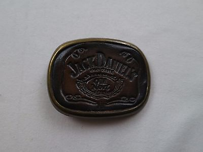Vintage Jack Daniels Alt Nummer 7 Tennessee Whisky Metall Gürtelschnalle gebraucht kaufen  Versand nach Germany