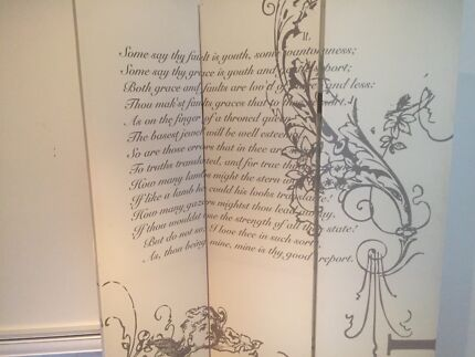 French style room divider
