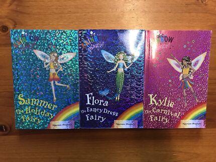 Set of 3 Rainbow Magic Fairy kids chapter Books Daisy Meadows