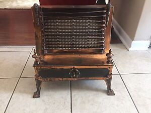 "Vintage ""Moore"" company 1923 electric heater"