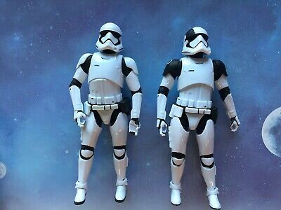 "Star Wars Black Series 6"" Figure lot (x2): FO Stormtrooper & Executioner (loose)"