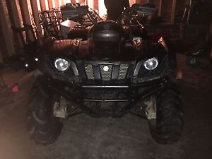 C&C cycles parting out 2002 Yamaha grizzly 660 runs good