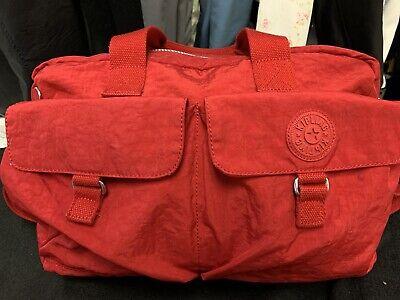 Kipling Large Baby Diaper Tote Bag TM2406 RED