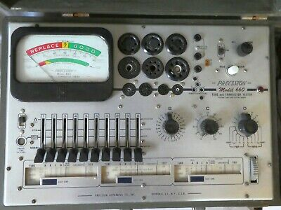 Precision Tube Tester Model 660