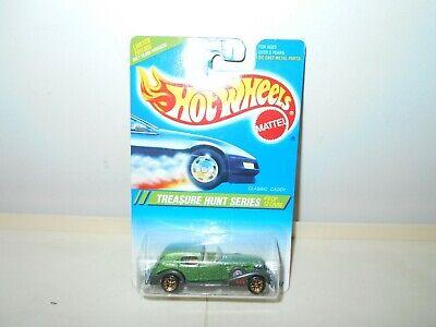 1995 VINTAGE HOT WHEELS TREASURE HUNT #9 CLASSIC CADDY MOC DIE-CAST CAR