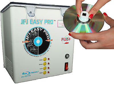110 Volt JFJ Easy Pro Plus CD/DVD Repair Machine with PUSH NUT