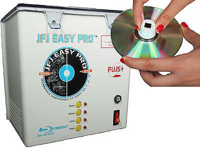 110 Volt JFJ Easy Pro Plus CD/DVD Repair Machine with PUSH NUT